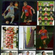 Cromos de Fútbol: 9 FICHAS DIFERENTES DE LA LIGA 2008 09 - COLECCION OFICIAL DE TRADING CARDS DE MUNDI CROMO - LOTE 10. Lote 55805469