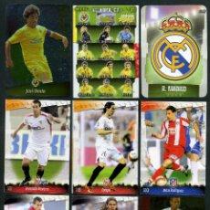Cromos de Fútbol: 9 FICHAS DIFERENTES DE LA LIGA 2008 09 - COLECCION OFICIAL DE TRADING CARDS DE MUNDI CROMO - LOTE 13. Lote 55806184