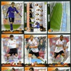 Cromos de Fútbol: 9 FICHAS DIFERENTES DE LA LIGA 2008 09 - COLECCION OFICIAL DE TRADING CARDS DE MUNDI CROMO - LOTE 14. Lote 55806453