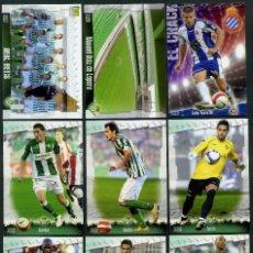 Cromos de Fútbol: 9 FICHAS DIFERENTES DE LA LIGA 2008 09 - COLECCION OFICIAL DE TRADING CARDS DE MUNDI CROMO - LOTE 17. Lote 55807486