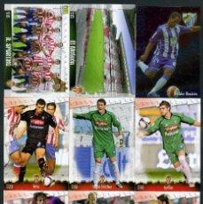 Cromos de Fútbol: 9 FICHAS DIFERENTES DE LA LIGA 2008 09 - COLECCION OFICIAL DE TRADING CARDS DE MUNDI CROMO - LOTE 27. Lote 55871556