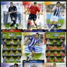 Cromos de Fútbol: 9 FICHAS DIFERENTES DE LA LIGA 2008 09 - COLECCION OFICIAL DE TRADING CARDS DE MUNDI CROMO - LOTE 29. Lote 55873663