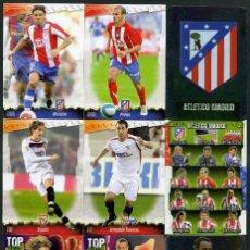 Cromos de Fútbol: 9 FICHAS DIFERENTES DE LA LIGA 2008 09 - COLECCION OFICIAL DE TRADING CARDS DE MUNDI CROMO - LOTE 42. Lote 55883858