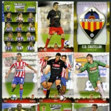 Cromos de Fútbol: 9 FICHAS DIFERENTES DE LA LIGA 2008 09 - COLECCION OFICIAL DE TRADING CARDS DE MUNDI CROMO - LOTE 46. Lote 55885886