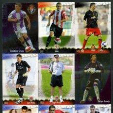 Cromos de Fútbol: 9 FICHAS DIFERENTES DE LA LIGA 2008 09 - COLECCION OFICIAL DE TRADING CARDS DE MUNDI CROMO - LOTE 48. Lote 55886443