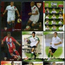 Cromos de Fútbol: 9 FICHAS DIFERENTES DE LA LIGA 2008 09 - COLECCION OFICIAL DE TRADING CARDS DE MUNDI CROMO - LOTE 53. Lote 55896984