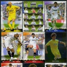 Cromos de Fútbol: 9 FICHAS DIFERENTES DE LA LIGA 2008 09 - COLECCION OFICIAL DE TRADING CARDS DE MUNDI CROMO - LOTE 55. Lote 55898360