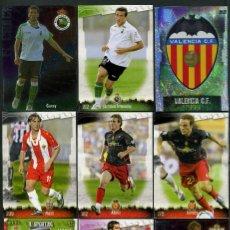 Cromos de Fútbol: 9 FICHAS DIFERENTES DE LA LIGA 2008 09 - COLECCION OFICIAL DE TRADING CARDS DE MUNDI CROMO - LOTE 60. Lote 55899446