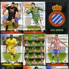 Cromos de Fútbol: 9 FICHAS DIFERENTES DE LA LIGA 2008 09 - COLECCION OFICIAL DE TRADING CARDS DE MUNDI CROMO - LOTE 64. Lote 55901205