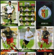 Cromos de Fútbol: 9 FICHAS DIFERENTES DE LA LIGA 2008 09 - COLECCION OFICIAL DE TRADING CARDS DE MUNDI CROMO - LOTE 66. Lote 55902449
