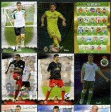 Cromos de Fútbol: 9 FICHAS DIFERENTES DE LA LIGA 2008 09 - COLECCION OFICIAL DE TRADING CARDS DE MUNDI CROMO - LOTE 67. Lote 55902861