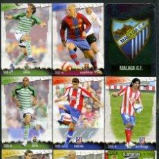 Cromos de Fútbol: 9 FICHAS DIFERENTES DE LA LIGA 2008 09 - COLECCION OFICIAL DE TRADING CARDS DE MUNDI CROMO - LOTE 76. Lote 55907041