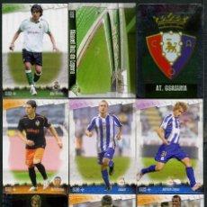 Cromos de Fútbol: 9 FICHAS DIFERENTES DE LA LIGA 2008 09 - COLECCION OFICIAL DE TRADING CARDS DE MUNDI CROMO - LOTE 78. Lote 55909575