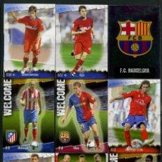 Cromos de Fútbol: 9 FICHAS DIFERENTES DE LA LIGA 2008 09 - COLECCION OFICIAL DE TRADING CARDS DE MUNDI CROMO - LOTE 80. Lote 55911448