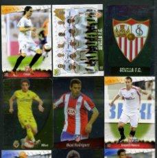 Cromos de Fútbol: 9 FICHAS DIFERENTES DE LA LIGA 2008 09 - COLECCION OFICIAL DE TRADING CARDS DE MUNDI CROMO - LOTE 82. Lote 55911912