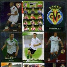 Cromos de Fútbol: 9 FICHAS DIFERENTES DE LA LIGA 2008 09 - COLECCION OFICIAL DE TRADING CARDS DE MUNDI CROMO - LOTE 83. Lote 55912184