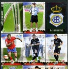Cromos de Fútbol: 9 FICHAS DIFERENTES DE LA LIGA 2008 09 - COLECCION OFICIAL DE TRADING CARDS DE MUNDI CROMO - LOTE 91. Lote 55916308