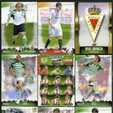 Cromos de Fútbol: 9 FICHAS DIFERENTES DE LA LIGA 2008 09 - COLECCION OFICIAL DE TRADING CARDS DE MUNDI CROMO - LOTE 97. Lote 55916377