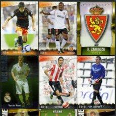 Cromos de Fútbol: 9 FICHAS DIFERENTES DE LA LIGA 2008 09 - COLECCION OFICIAL DE TRADING CARDS DE MUNDI CROMO - LOTE 98. Lote 55916386