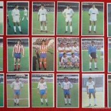 Cromos de Fútbol: LOTE + 95 CROMOS DIFERENTES 1985-1986. CROMOS CANO 85-86. Lote 41264656