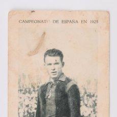 Cromos de Fútbol: CROMO FUTBOL CAMPEONATO DE ESPAÑA 1925 - SAMITIER. Lote 56014482