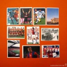 Cromos de Fútbol: CROMO MARCA - LOTE DE 10 CROMOS ADHESIVOS DIFERENTES - LIBRO CAMPEONES EUROPA 1999 - A 3,50 € C/U. Lote 56054607