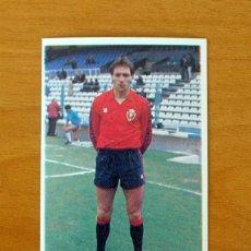 Cromos de Futebol: OSASUNA - CASTAÑEDA - CROMOS CANO 1985-1986, 85-86 - NUNCA PEGADO. Lote 56090483