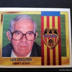 Figurine di Calcio: LUIS ARAGONES - VALENCIA C.F. - EDICIONES ESTE LIGA 1995 1996 - 95 96 - SIN PEGAR. Lote 56170789