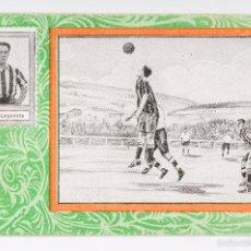 Cromos de Fútbol: CROMO FUTBOL VERDE - JUGADOR JOSE D. LEGARRETA ATHLETIC CLUB DE BILBAO- SERIE B Nº 17. Lote 56245651