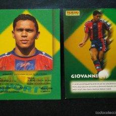 Cromos de Fútbol: COPIA DE CROMOS PANINI FUTBOL CLUB FC BARCELONA F.C BARÇA CF GIOVANNI. Lote 56314639
