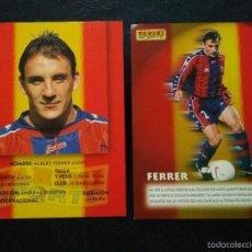 Cromos de Fútbol: COPIA DE CROMOS PANINI FUTBOL CLUB FC BARCELONA F.C BARÇA CF FERRER. Lote 56314739