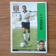 Cromos de Fútbol: CROMO PANINI LIGA LFP 95 96 CUELLAR (MERIDA) - SIN PEGAR - FUTBOL 1995 1996. Lote 56328463
