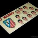 Cromos de Fútbol: CROMO FICHA A-2 ATLÉTICO DE MADRID, FÚTBOL CAMPEONATO NACIONAL LIGA 1953 / 1954, CHOCOLATES BATANGA.. Lote 56375958