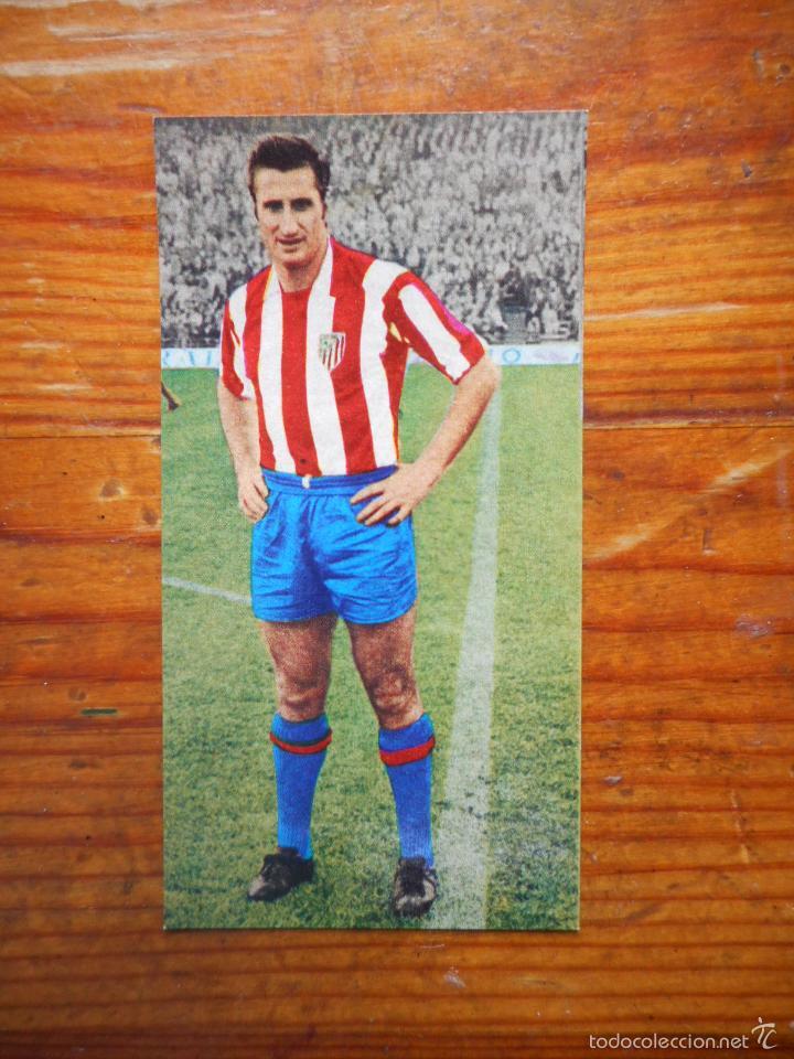 CROMO LIGA 1969 1970, EDITORIAL RUIZ ROMERO. CALLEJA (AT. MADRID). NUEVO. NUNCA PEGADO (Coleccionismo Deportivo - Álbumes y Cromos de Deportes - Cromos de Fútbol)