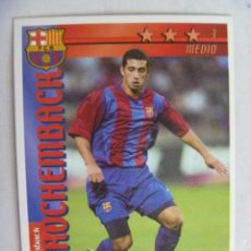 Cromos de Fútbol: CROMO FUTBOL TOTAL, LIGA 2002-2003 : ROCHEMBACH DEL BARCELONA. Lote 56532074