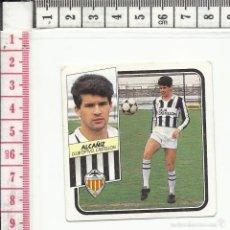 Cromos de Fútbol: 13.391 CROMO FUTBOL, SIN PEGAR, LIGA 1989/1990, ALCAÑIZ, C.D. CASTELLON, EDICIONES ESTE. Lote 61066449