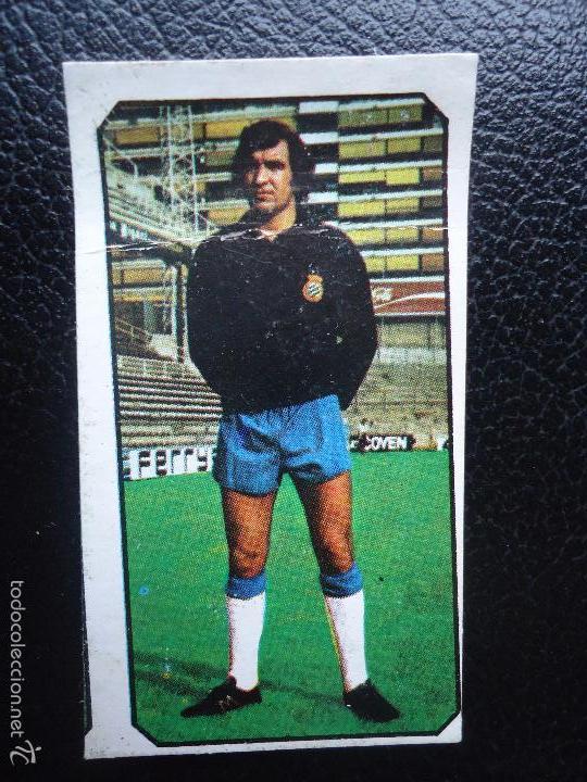 XX EDICIONES ESTE 77 78 1977 1978 ECHEVARRIA ESPAÑOL ESPANYOL DESPEGADO (Coleccionismo Deportivo - Álbumes y Cromos de Deportes - Cromos de Fútbol)