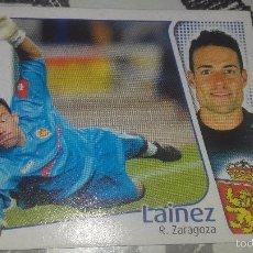 Cromos de Fútbol: ESTE 2004/2005. LAINEZ ( ZARAGOZA ) EDICIONES ESTE. NUEVO. CROMO.PERFECTO ESTADO. 04/05. Lote 56634855