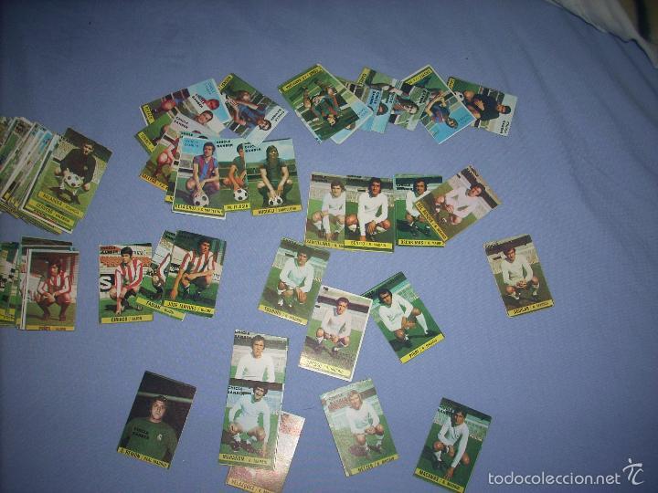 Cromos de Fútbol: COLECCION CASI COMPLETA SIN PEGAR DE LA LIGA 1974-75 DE CHICLES SAMBER - Foto 2 - 56803122