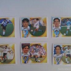 Cromos de Fútbol: LOTE 6 ÚLTIMOS FICHAJES LIGA ESTE 1994 1995 NUEVOS. Lote 56826149