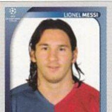 Cromos de Fútbol: #109 MESSI BARCELONA UEFA CHAMPIONS LEAGUE 2008 2009 PANINI. Lote 154294373