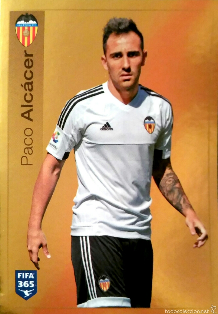 S49 Paco Alcacer Valencia Cf Fifa 365 Pan Verkauft Durch