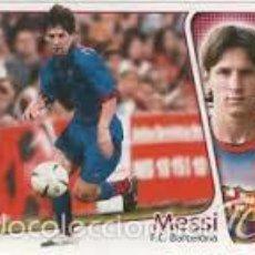 Cromos de Fútbol: EDICIONES ESTE 2004 2005 - BARCELONA - MESSI ( COLOCA ). Lote 57652189