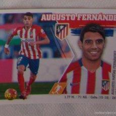 Cromos de Fútbol: 3 - AUGUSTO FERNÁNDEZ (ATLÉTICO MADRID). LIGA ESTE 2015 - 2016. MERCADO DE INVIERNO + ACTUALIZACION. Lote 57027871