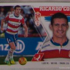 Cromos de Fútbol: 14 - RICARDO COSTA (GRANADA CF). LIGA ESTE 2015 - 2016. MERCADO DE INVIERNO + ACTUALIZACIÓN. Lote 57027878