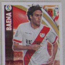 Cromos de Fútbol: PANINI ADRENALYN XL LIGA 2015 2016 - 258 BAENA (RAYO VALLECANO). Lote 57051431