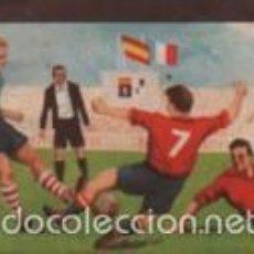 Cromos de Fútbol: CROMO CHOCOLATES TUPINAMBA Nº 26 PARTIDOS INTERNACIONALES SERIE A FRANCIA 1 ESPAÑA 5 1949 COLOMBES. Lote 57059834