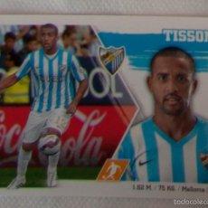 Cromos de Fútbol: LIGA ESTE 2015 - 2016. 15 TISSONE (MÁLAGA CF). Lote 57077893