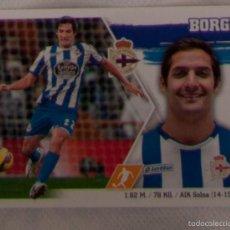 Cromos de Fútbol: LIGA ESTE 2015 - 2016. 12 BORGES (DEPORTIVO DE LA CORUÑA). Lote 57078197