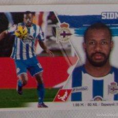 Cromos de Fútbol: LIGA ESTE 2015 - 2016. 9 SIDNEI (DEPORTIVO DE LA CORUÑA). Lote 57078223